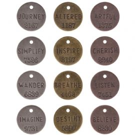 TIM HOLTZ® IDEA-OLOGY™ - Philosophy Tags  - TH92678